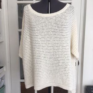 Two by Vince Camino Oversized Rib Knit Sweater